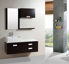 48 inch wall mount floating bathroom cabinet with mirror u0026amp