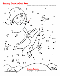 dot to dot christmas coloring pages u2013 festival collections