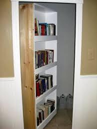 secret swing in bookcase door stashvault
