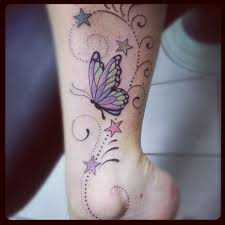 that is my ankle butterflies and take a look at