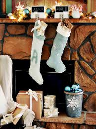 how to make chalkboard stocking hangers hgtv