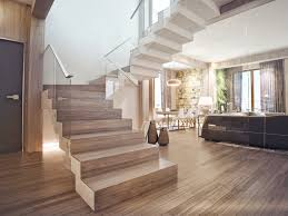 Interior Design Close To Nature Rich Wood Themes And Indoor - Contemporary interior home design