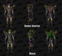 demon hunter armor modifications court of stars unique mechanics