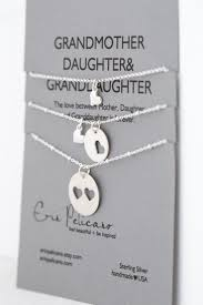 grandmother and granddaughter necklaces mothers day gift grandmother granddaughter jewelry