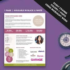 Organize Media by 32 Best Media Kit Design Examples Images On Pinterest Blog Tips
