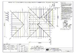 timber roof truss layout plan jpg