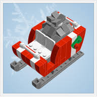 build your own ornaments for the lego lover in your