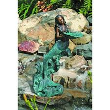 Home Decor Fountain Mermaid Collections Statues Water Fountains Ocean Home Decor