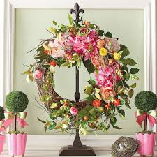 Spring Decoration by Beautiful Spring Wreaths You Can Buy Online Popsugar Home