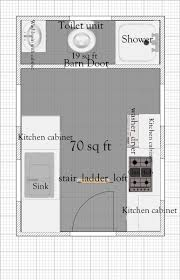 tiny home floor plan free 8 u2032 x 12 u2032 tiny house plan with loft
