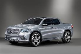 mercedes pick up here s what the mercedes benz glt pickup truck could look like