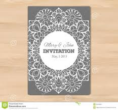 wedding invitation card template stock vector image 53642861