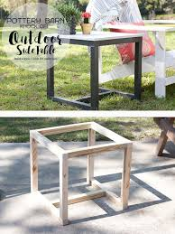 25 unique outdoor side table ideas on pinterest rustic outdoor