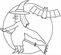 kids pumpkin funny bat coloring pages halloween cat and bats