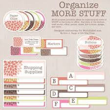 14 best office organizing labels images on pinterest free