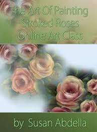 dvd elegant stroke roses susan abdella paintings painted