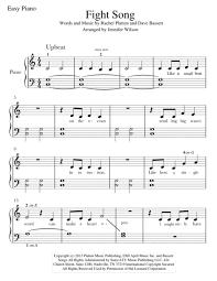 fight song sheet by platten dave bassett
