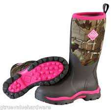 s muck boots size 9 muck wwpk rapg woody pk pink camo s boots hunt size sz 6