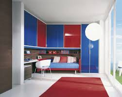 bedroom colors for kids with awesome masculine red rug and red and
