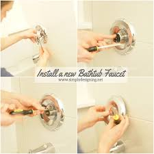 How To Change A Bathroom Faucet How To Install New Bathroom Fixtures Final Update On The Kid U0027s