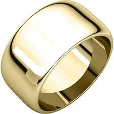 14k gold wedding band 11683110 14k gold 10mm wedding rings