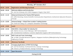 singapore rfid workshop tickets mon 30 oct 2017 at 9 30 am