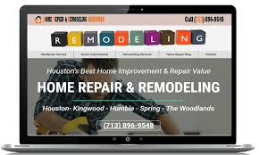 home improvement websites home improvement website designs seo websites proengage local