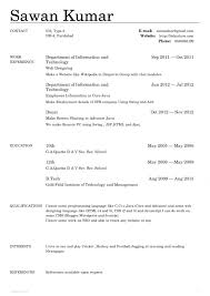 Different Types Of Resume 4 Types Of Resumes Lukex Co
