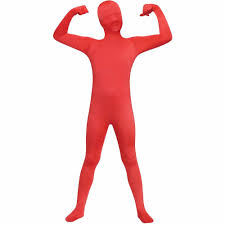 invisible halloween costume skin suit costume