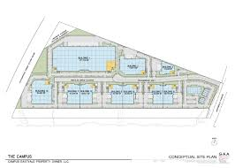 Building Site Plan Location The Campus At Eastvale