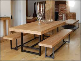 Distressed Wood Dining Room Table by How To Make A Reclaimed Wood Dining Table Extravagant Home Design