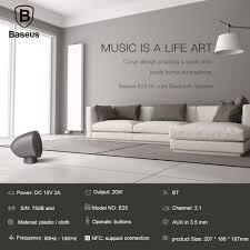 Living Room Bluetooth Speakers Baseus E25 Hi One Mini Nfc Wireless Bluetooth Speaker With Nfc