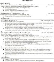 Volunteer Service On Resume Best How To Write Expected Graduation Date On Resume Images