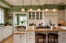 kitchen traditional kitchen design ideas using pastel green wall
