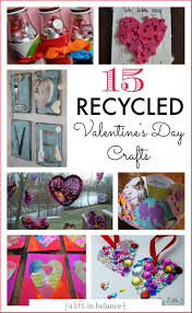 15 valentine u0027s day crafts made with recycled items