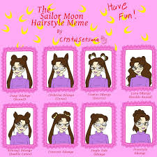 Meme Hairstyles - daily hairstyles for sailor moon hairstyle sailor moon hairstyle
