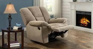 walmart com serta memory foam massage recliner w usb charging