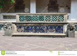 old chinese bench in temple stock photos image 38562803