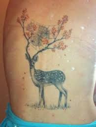 44 best deer and tree tattoos images on pinterest draw