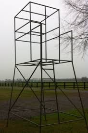 Box Blind Plans Metal Deer Stand Frames U2022 Hunting In South Central Louisiana