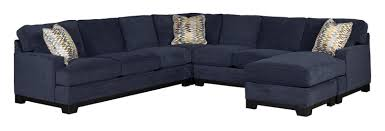 blue sectional sofa with chaise kronos contemporary 4 piece sectional sofa with right arm facing