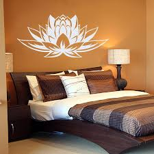wall vinyl decals lotus flower symbol home art sticker mural