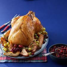 Recipes For Roast Turkey Thanksgiving Herb Roasted Turkey Recipe Taste Of Home