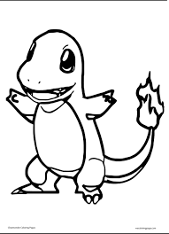 charmander coloring pages charmander pokemon coloring pages for