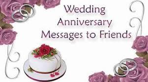 New Wedding Anniversary Message To Friends Wedding Anniversary Message Jpg