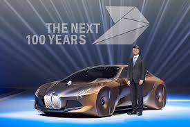 bmw concept bmw celebrates 100 years with bold new concept car cleantechnica