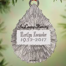 personalized memorial ornament kimball