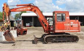 1988 koehring 6608 mini excavator item g5160 sold june
