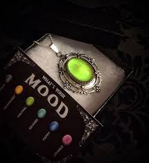 halloween jewelry mood necklace mood jewelry mood ring necklace