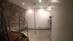 pole in my basement basement ideas